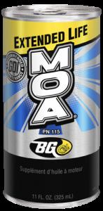 Dekarbonizácia benzínového motora - BG 115 MOA New