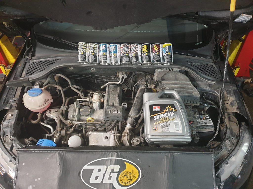 Dekarbonizácia benzínového motora