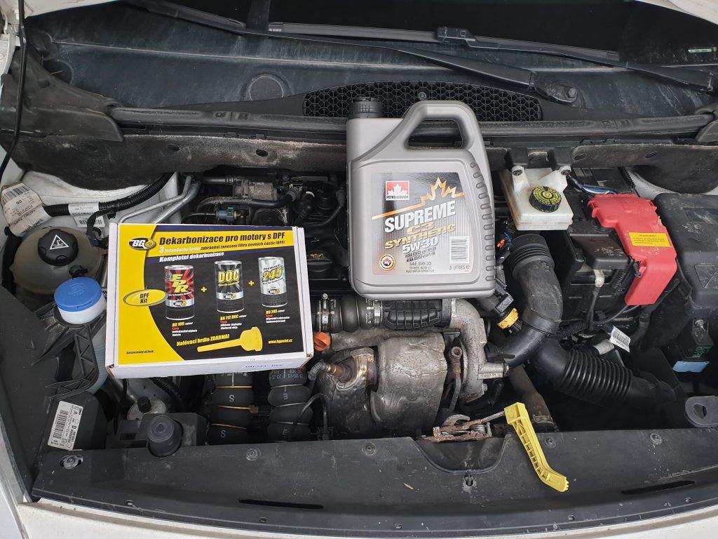 Dekarbonizácia dieselového motora